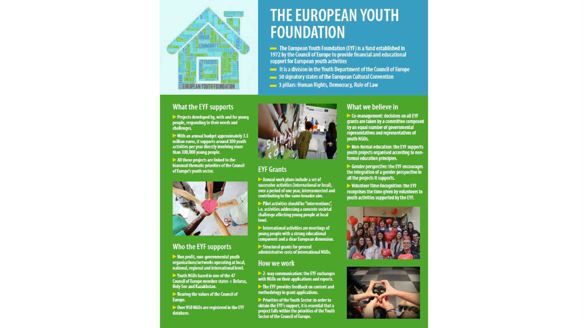EYF exhibition for the European Youth Event 2018 - News 2018