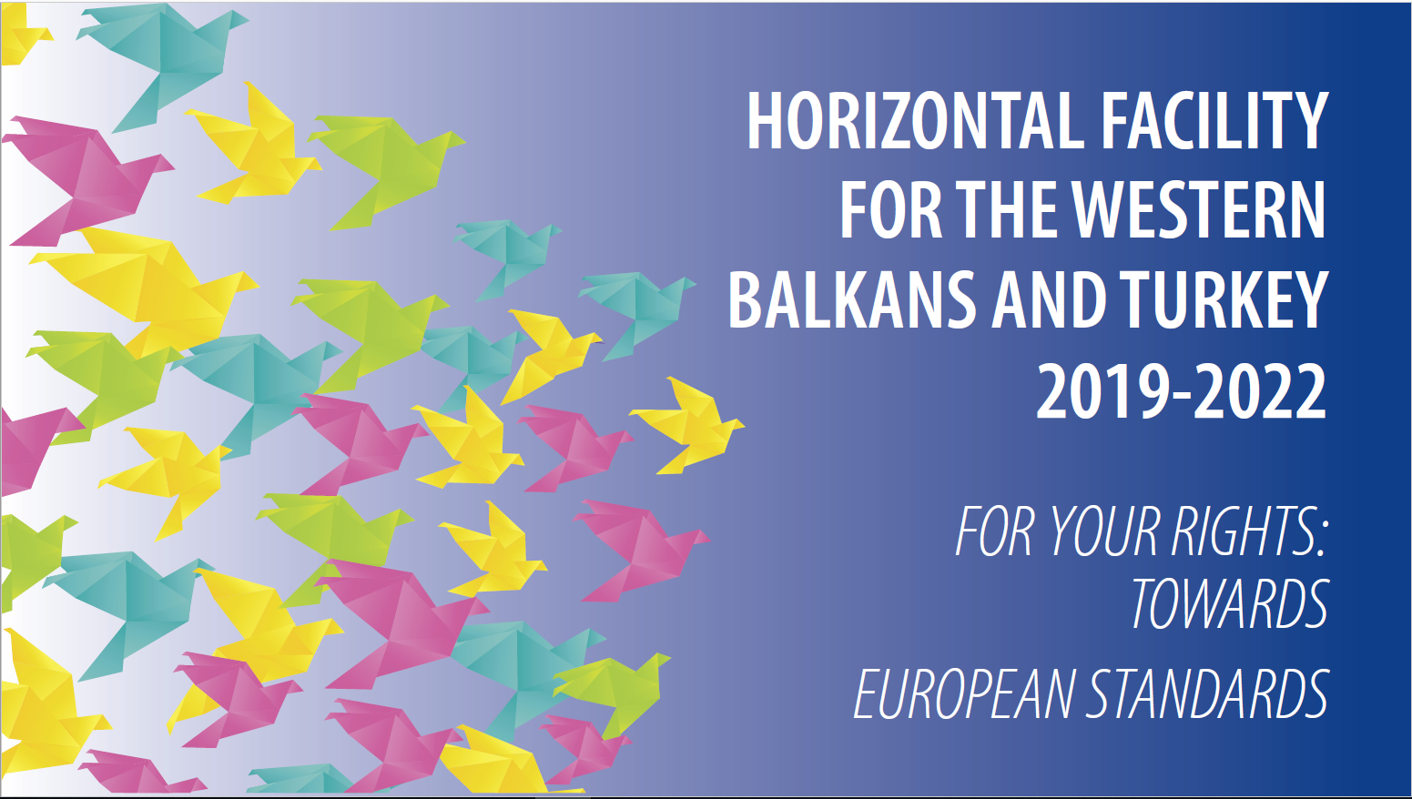 Horizontal Facility II - Promotion of diversity and equality in the Western Balkans