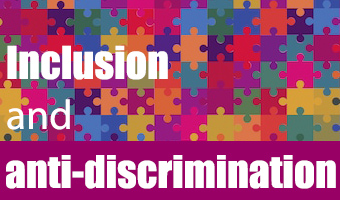 inclusion and anti-discrimination logo