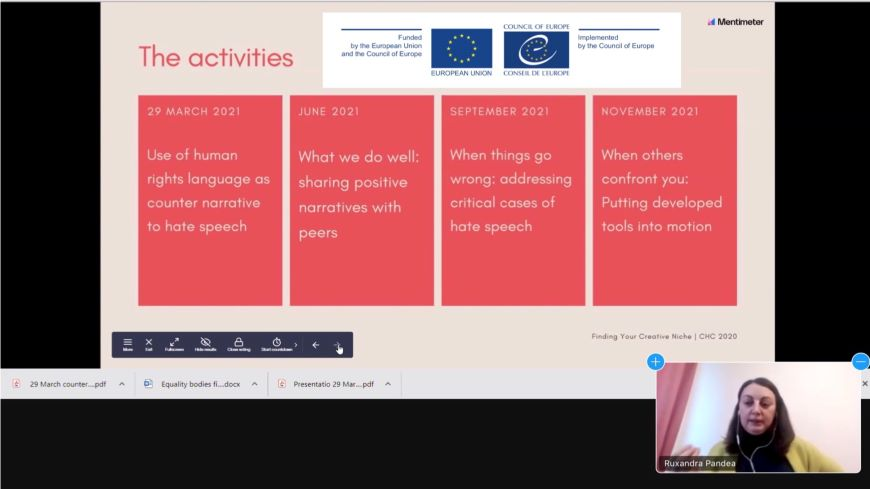 Using a human right-based language in responding to hate speech: a challenge for equality bodies across Europe