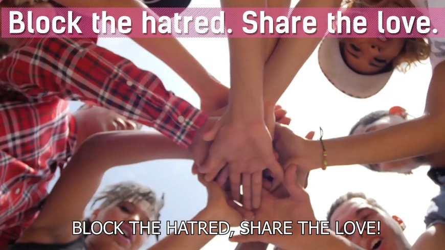 European Union and Council of Europe regional campaign: Block the hatred. Share the love! takes ahead