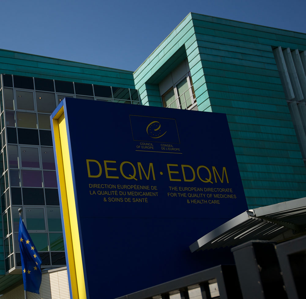 The European Directorate for the Quality of Medicines and HealthCare (EDQM) 6