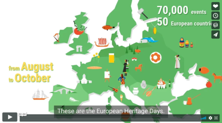 35th anniversary of the European Heritage Days