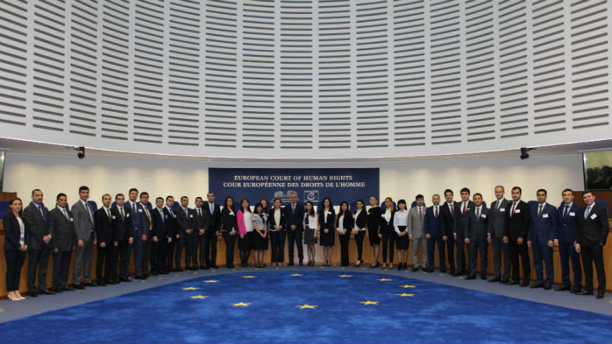 Study visits of Azerbaijani judge candidates