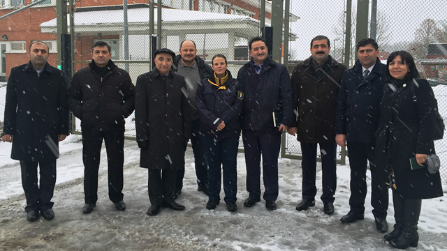 Azerbaijani penitentiary and probation staff visited prisons in Sweden