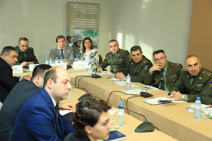 Human rights in the armed forces in Armenia discussed on the occasion of the Human Rights Day