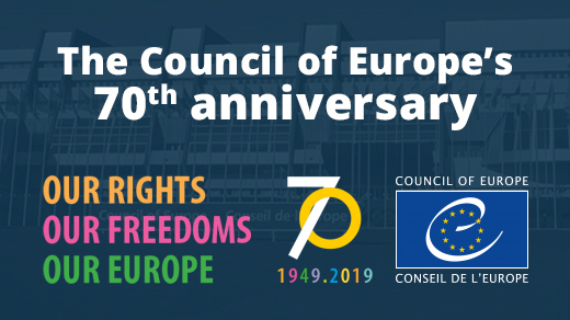 Seventy years of the Council of Europe – a website to explore our European story