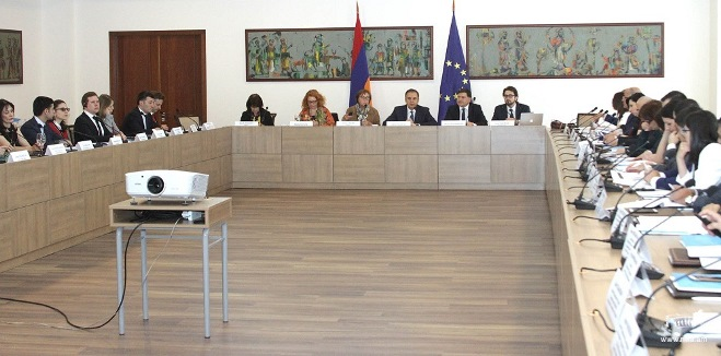 Steering Committee Meeting of Armenia-Council of Europe 2015-2018 Action Plan Took Place at the Ministry of Foreign Affairs of Armenia