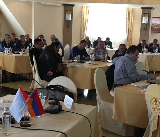 Co-operation project in Armenia: Congress organises four regional workshops in partnership with the Communities Association of Armenia
