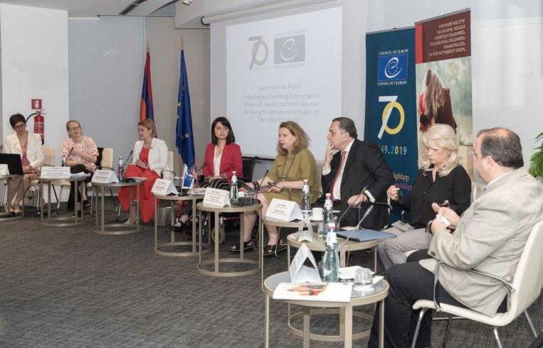 New project on preventing and combating violence against women launched in Armenia