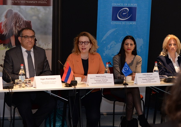 The Council of Europe, the Police of Republic of Armenia and the Academy of Justice of Republic of Armenia strengthened the response to violence against women and domestic violence in Armenia