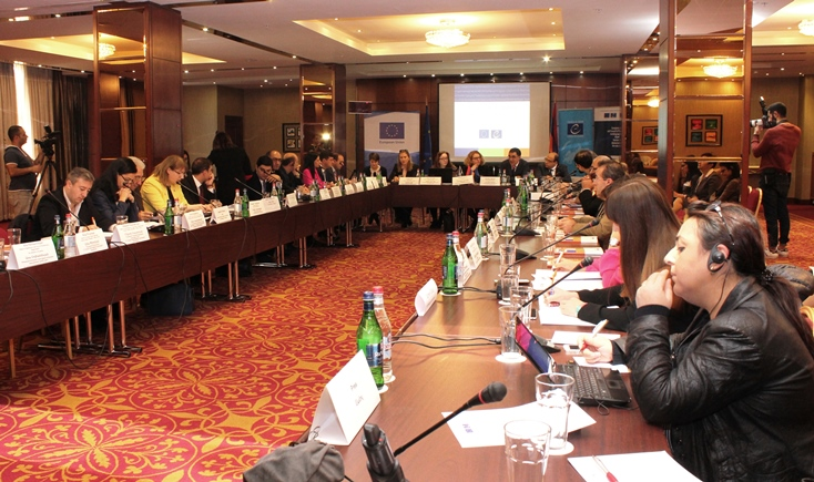 Presentation of the results of projects in Armenia
