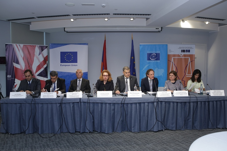 "Launching of the Project on ""Support to the implementation of the judicial reform in Armenia''"