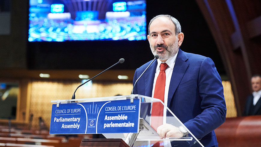 "Nikol Pashinyan: ""Armenia is today unequivocally a democratic country"""