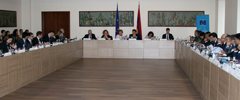 Meeting of the Armenia-CoE Action Plan Steering Committee was held at the Ministry of Foreign Affairs of Armenia