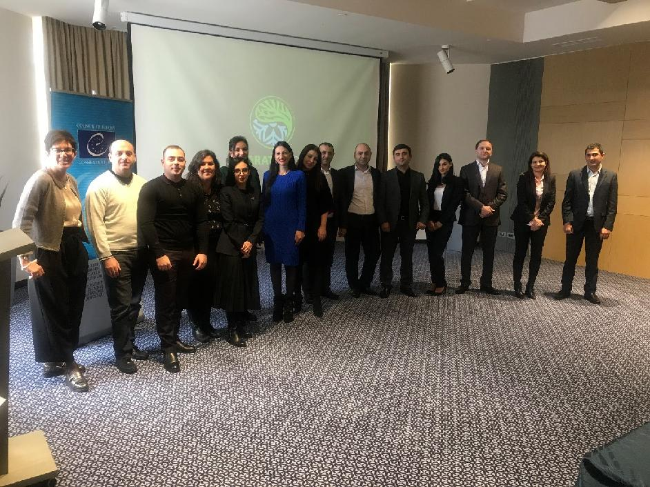 Armenian judges, prosecutors and investigators trained on practical tools to prevent and combat violence against women and domestic violence