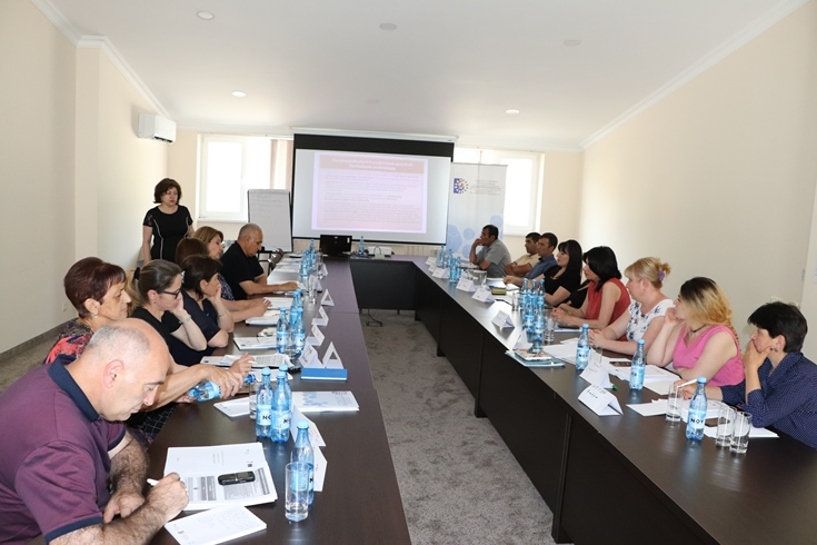 A series of training courses for financial staff from Armenian municipalities