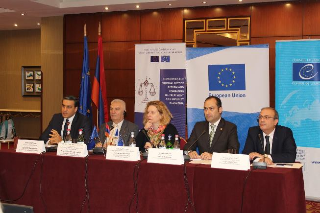 "Final conference of the Project ""Supporting the criminal justice reform and combating ill-treatment and impunity in Armenia"""
