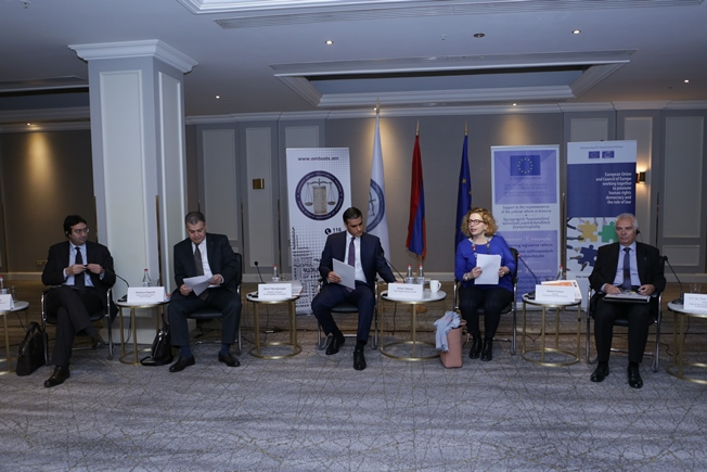 Conference on implementation by Armenia of anti-corruption recommendations by GRECO took place in Yerevan