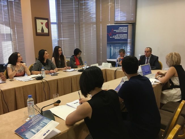 Roundtable on prison healthcare legislation in Armenia