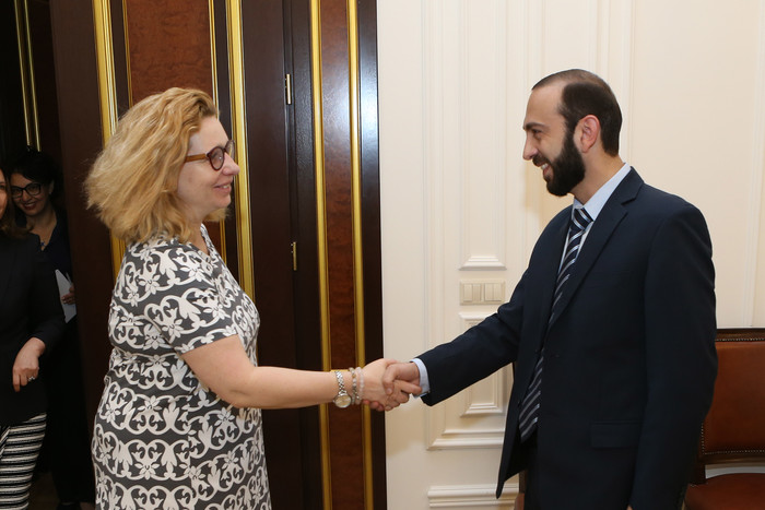 Meeting with the First Deputy Prime Minister of Armenia