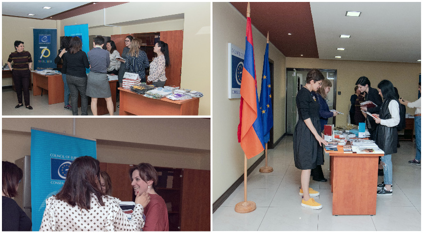 Open Day at Council of Europe Office in Yerevan dedicated to the 70th anniversary of the Council of Europe