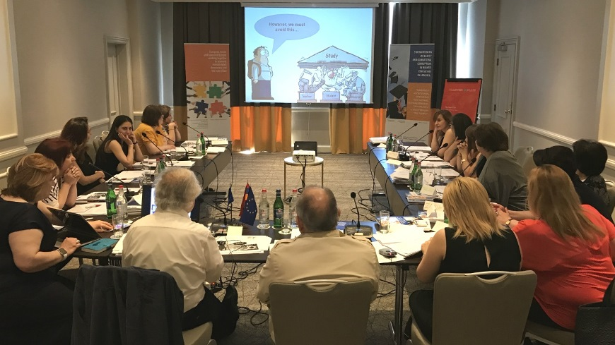 Enhancing accountability and transparency in curriculum development and student assessment - Trainings of teachers in Armenia