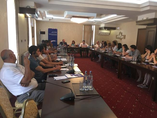 Trainings for representatives of 52 amalgamated communities