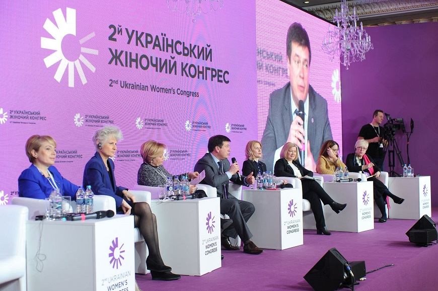 II Ukrainian Women Congress – an important milestone for promoting gender equality and women's rights in Ukraine