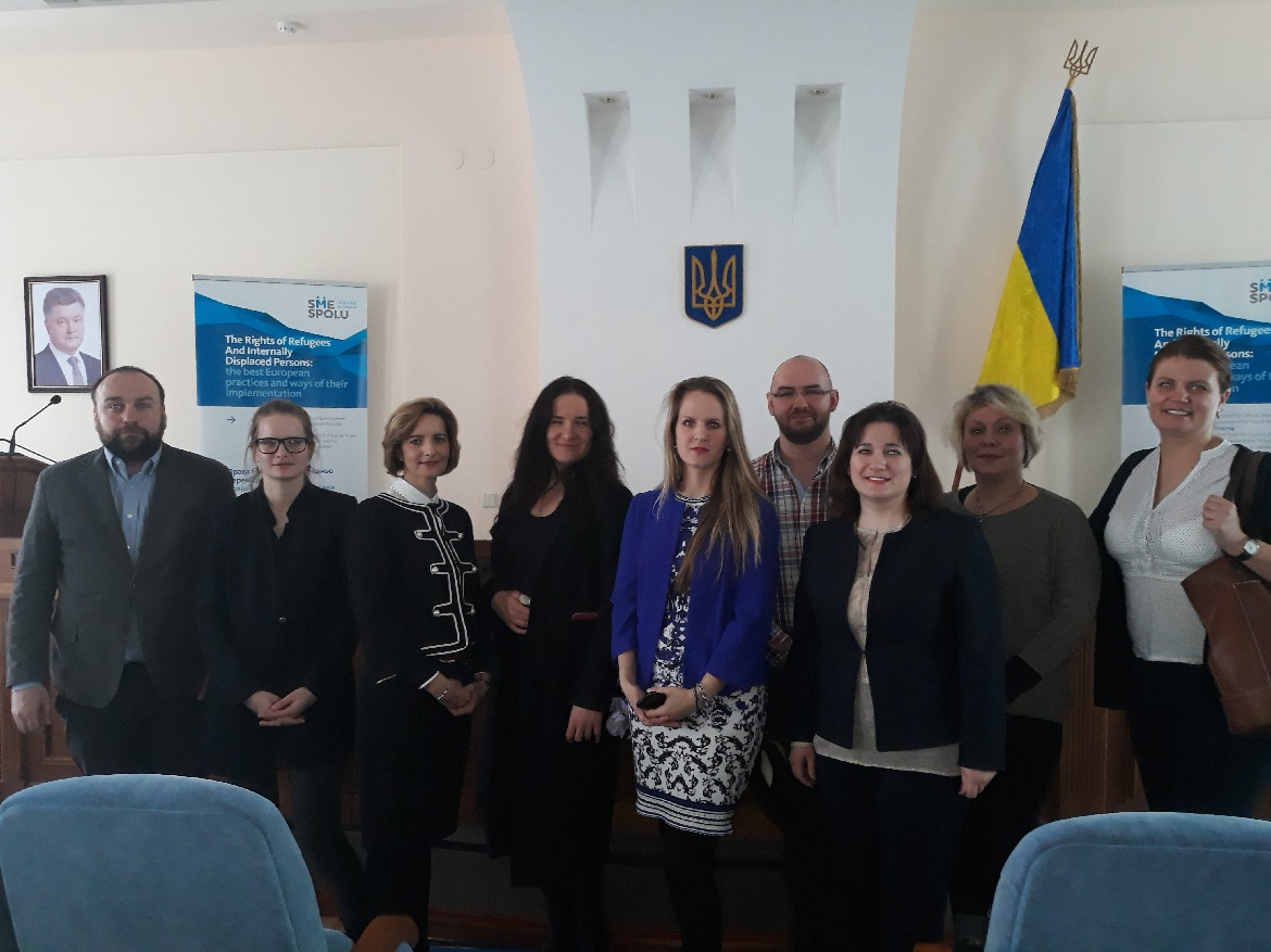 The international conference on the rights of internally displaced persons and the best European practices for their respect and protection has been hosted in Karkov