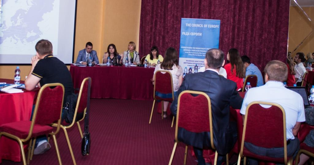 "Seminar ""Protecting of Internally Displaced Persons' Rights: Council of Europe Standards and Regional Practices in Ukraine"" held in Odessa."