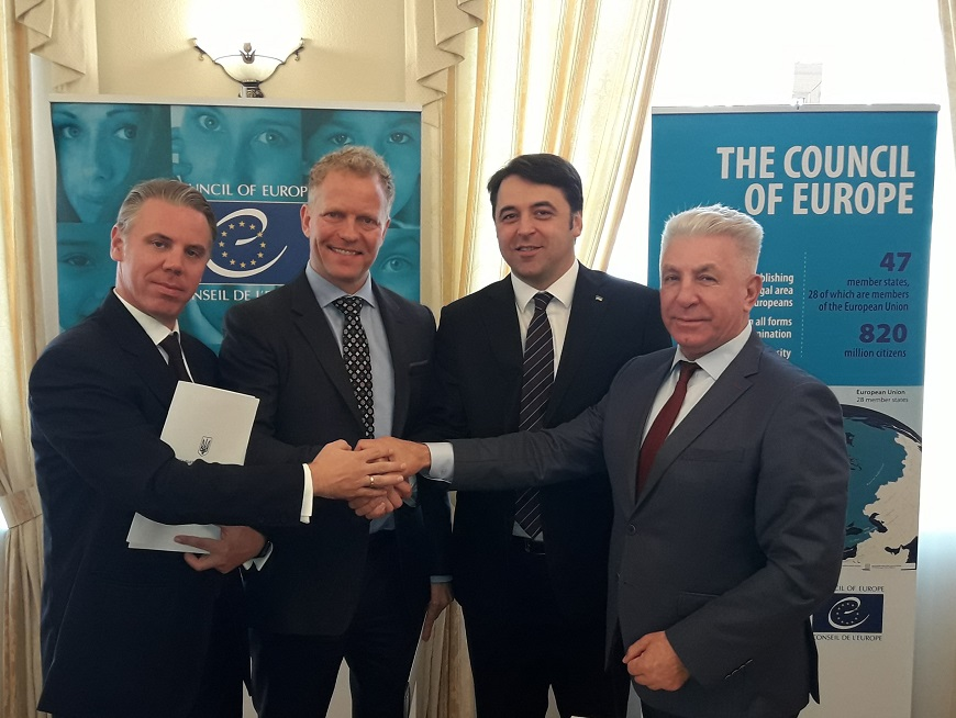 The Council of Europe unites efforts to build effective public administration in Ukraine