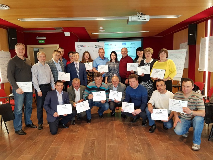 COUNCIL OF EUROPE LEADERSHIP ACADEMY PROGRAMME: training of the fourth group of local communities chairs was completed in partnership with the DOBRE program