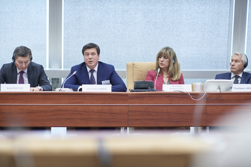 Achievements of decentralisation in Ukraine presented at the Council of Europe