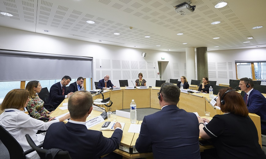 Ukrainian State Bureau of Investigation visits the Council of Europe