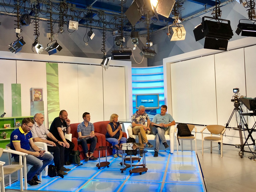 Visits to regional branches of the Public broadcaster in Cherkasy and Kropyvnytskyi