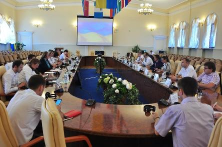 Meetings in Kyiv to support the strengthening of local governance in Ukraine