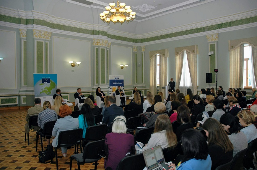 Council of Europe Gender Equality Strategy presented in Kyiv