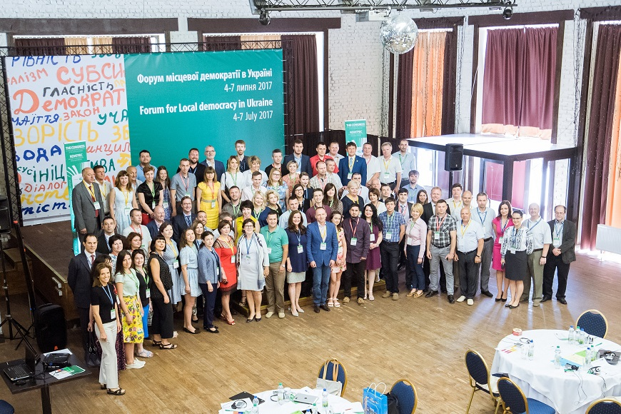 Forum for Local Democracy in Ukraine: mayors, councillors and young local leaders commit to strengthen good local governance