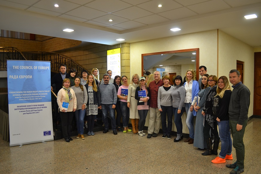 Seminar on psychosocial support of IDPs in Ukraine