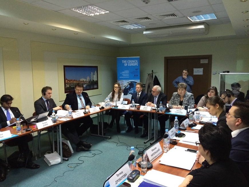 Judges, academicians, arbitrators of internal and external arbitration institutions discussed the reform of arbitration in Ukraine  on 23 January 2017 in Kyiv