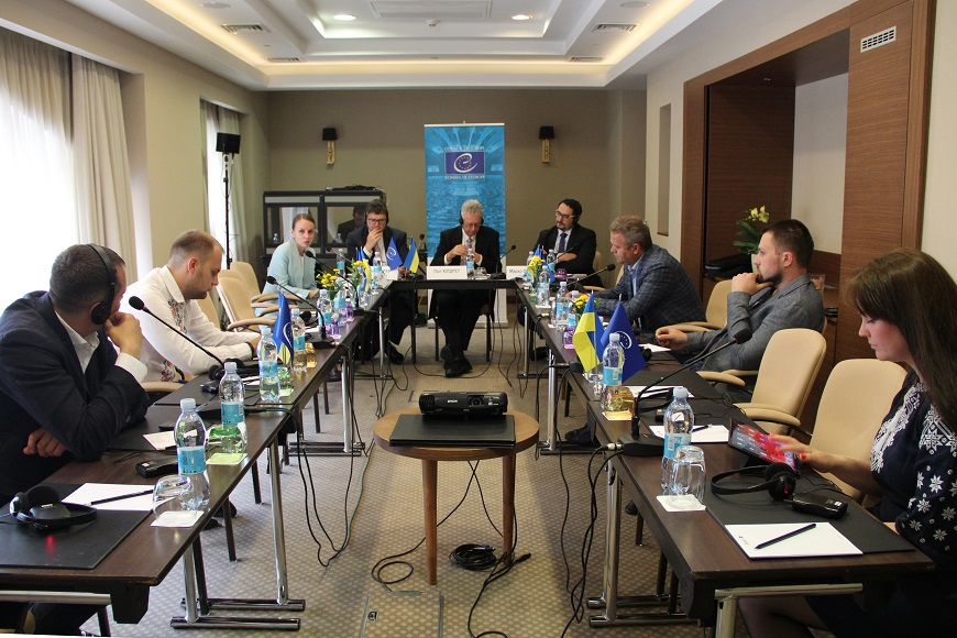 International Peer Review on the governance in metropolitan areas – the case of Kyiv and a series of meetings on good governance took place on 15-17 May in Kyiv
