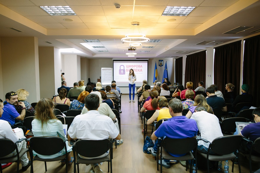 Seminar on safety of journalists in the time of war conflict held in Dnipro