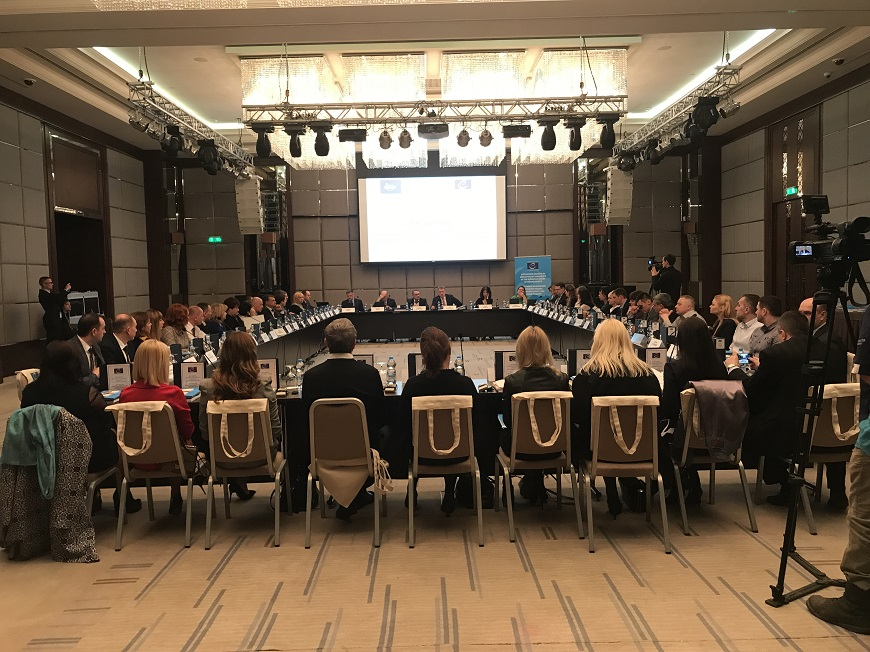 On 13 and 20 April 2018, an annual report of the High Council of Justice on ensuring the independence of the judiciary was presented and discussed in Chernivtsi and in Kharkiv, Ukraine