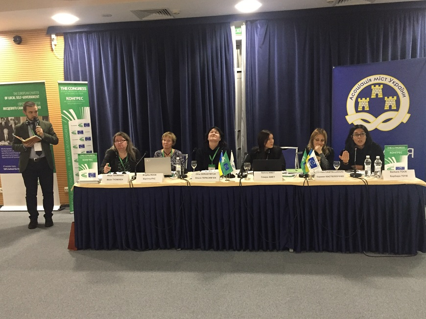 Gender equality at local level: challenges and opportunities in Ukraine