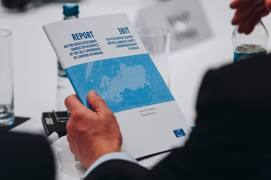 Bar Needs Assessment Report presented in Kyiv