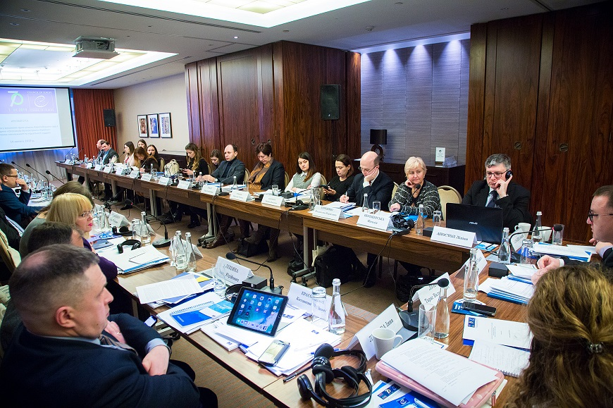 "The Council of Europe Project ""Supporting Ukraine in execution of judgments of the European Court of Human Rights"" organised or supported a number of activities held on 14 - 22 February 2019 in Kyiv, Ukraine"