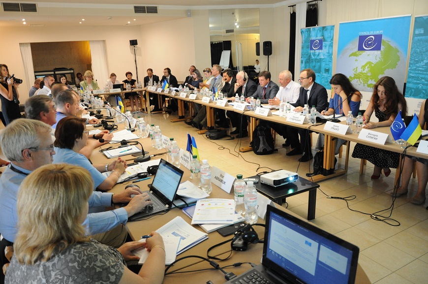 Draft law on legality supervision in Ukraine presented and discussed
