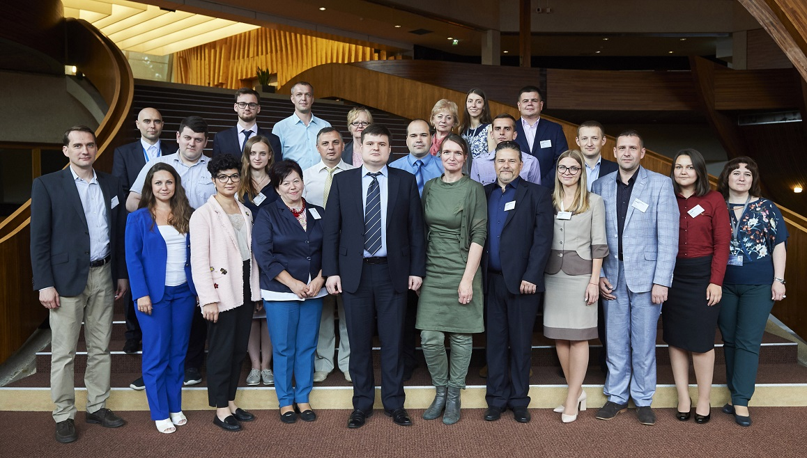 Ukrainian delegation visited Strasbourg to study the Council of Europe standards on internal displacement