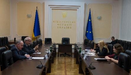 SASG Christos Giakoumopoulos discussed in Kyiv the Justice sector reforms